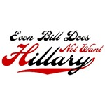 Even Bill Does Not Want Hillary