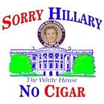 Sorry Hillary No Cigar