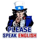 Please Speak English