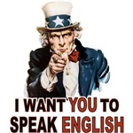 English: Speak English