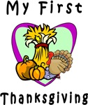 My First Thanksgiving Baby Apparel and Gifts