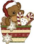 Sweet Christmas Bear