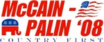 McCain - Palin 08 Country First