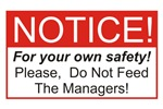 Notice / Managers