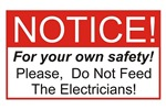 Notice / Electrician