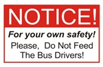 Notice / Bus Drivers