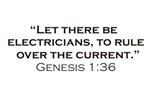 Electricians / Genesis