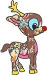 Lil Vintage Rudolph