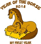 Year of The Horse New Baby 2014 T-Shirts