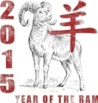 Year of The Ram 2015 T-Shirts Gifts