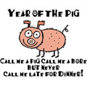 Funny Year of The Pig T-Shirt