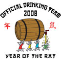 Chinese New Year Drinking Team T-Shirt
