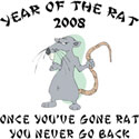 Funny Year of The Rat 2008 T-Shirt