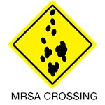 MRSA Crossing Sign 04