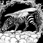 Tiger Headed Zebragryph