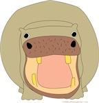 One Hippo!