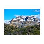 Snow on Picketpost Mountain