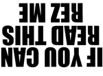If You Can Read This Rez Me