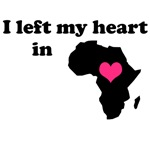 I Left My Heart in Africa (Ethiopian Adoption Tee)