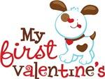 1st Valentines Day Puppy