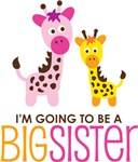 Giraffe going to be a Big Sister