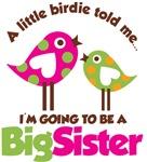 Polka Dot Bird Going to be a Big Sister