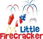 4th of July Little Firecracker
