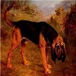 Bloodhound Lilian Cheviot 1907 Digitally Remastere