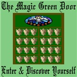 The Magic Green Door, Fantasy, Dreams, Imagination