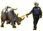 Occupy Wall Street, Peppers vs Wall Street bull