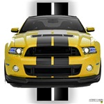 New Mustang GT Yellow