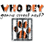 Who Dey! Distressed Collection