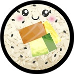 Cute Kawaii Sushi Roll