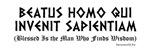 Beatus Homo