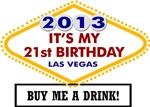 21st Birthday in Vegas