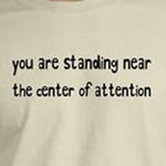 You Are Standing Near