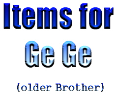 Items for Ge Ge
