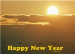 Sunrise Jewish New Year Card