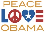 Peace, Love, Obama