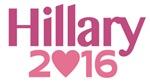 Hillary 2016 Heart