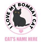 Personalized Bombay Cat T-Shirts
