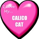I Love My Calico Cat