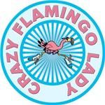 Crazy Flamingo Lady