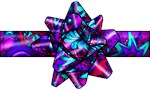 Violet Paisley Bow!