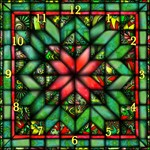 Quilt of Reds and Greens