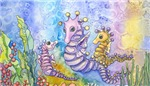 Seahorse with Children