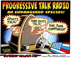Progressive Talk Radio, an Endangered Species