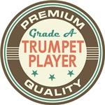 Trumpet Player T-shirts (Premium Quali