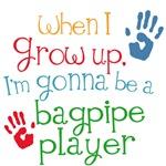 Future Bagpipe Player Kids Music Tees