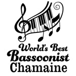 Worlds Best Bassoonist personalized music gifts